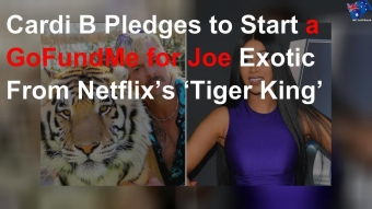 Cardi B pledges to start GoFundMe for Joe Exotic from Netflix's 'Tiger King