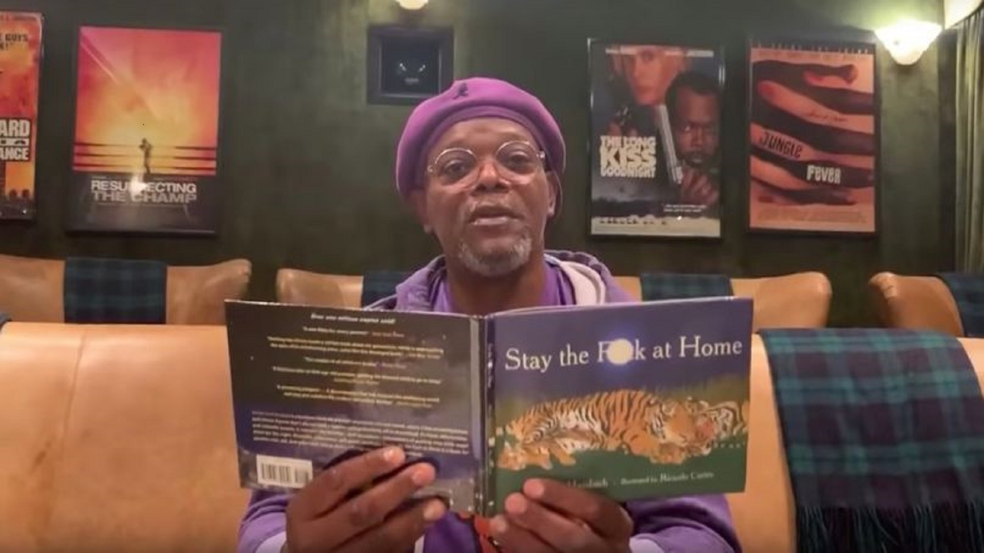 Samuel L. Jackson Has a Special Message on Social Distancing