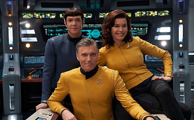 Pike and Spock Get Their Own Star Trek Series