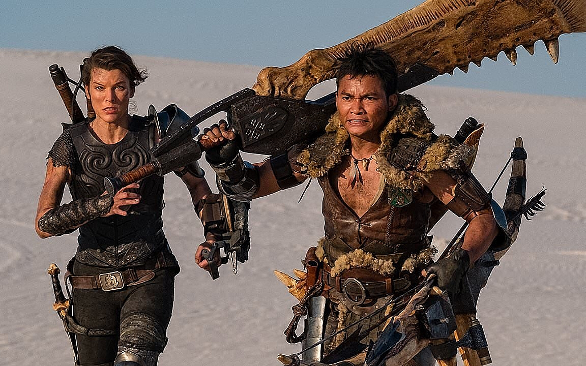Milla Jovovich Is Ready to Be a <i>Monster Hunter</I>