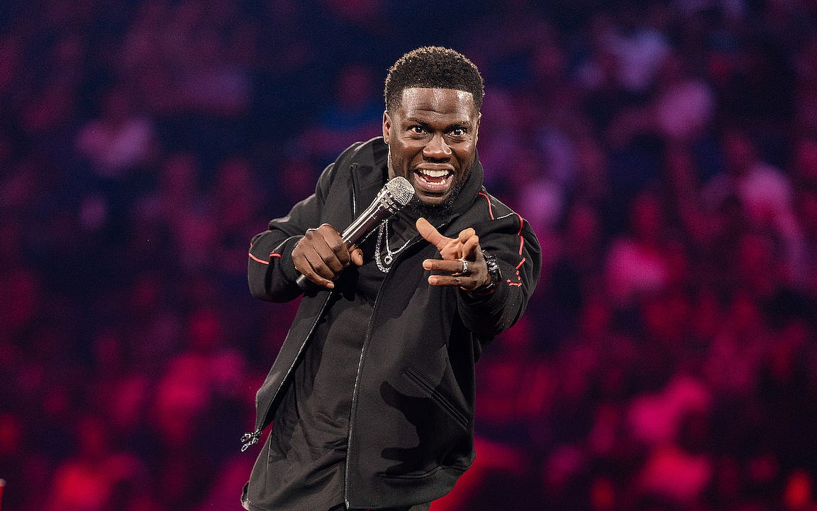 Kevin Hart Brings Comedy into His Living Room