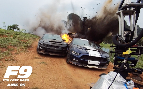Watch Cars Destroyed in New <I>F9</I> Clip