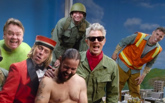 It Is <I>jackass forever</I> with These Guys